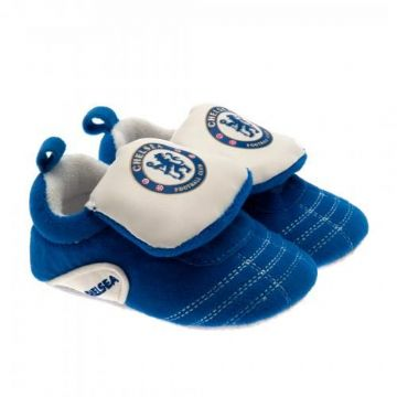 Chelsea FC Baby Crib Shoes 0/3 Months